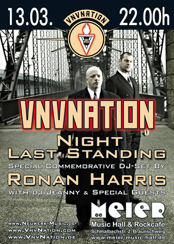 VNV Nation Night - Last Standing