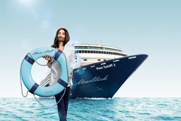 TUI CRUISES: Conchita Wurst ist Headliner der Rainbow Cruise