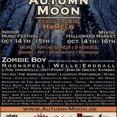 AUTUMN MOON FESTIVAL 2016: Line-Up und Infos