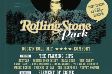 ROLLING STONE PARK: Neues Indoor-Festival am 16. und 17. November, u.a. mit Element of Crime, Kettcar und The Flaming Lips